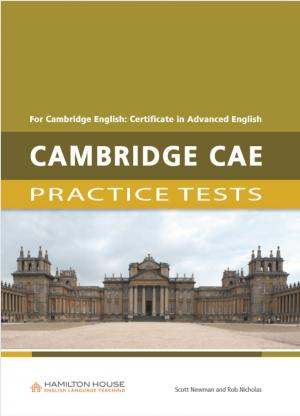 Practice Tests for CAE: Teacher's book