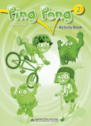 Ping Pong 2: Activity book