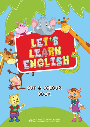 Let's Learn English: Cut and Paint
